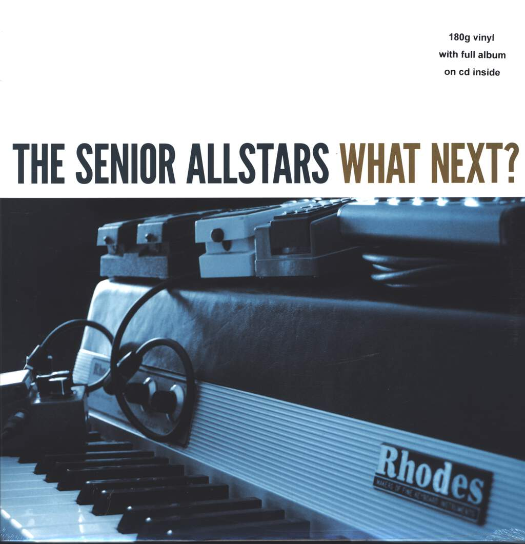 The Senior Allstars: What Next?, LP (Vinyl)