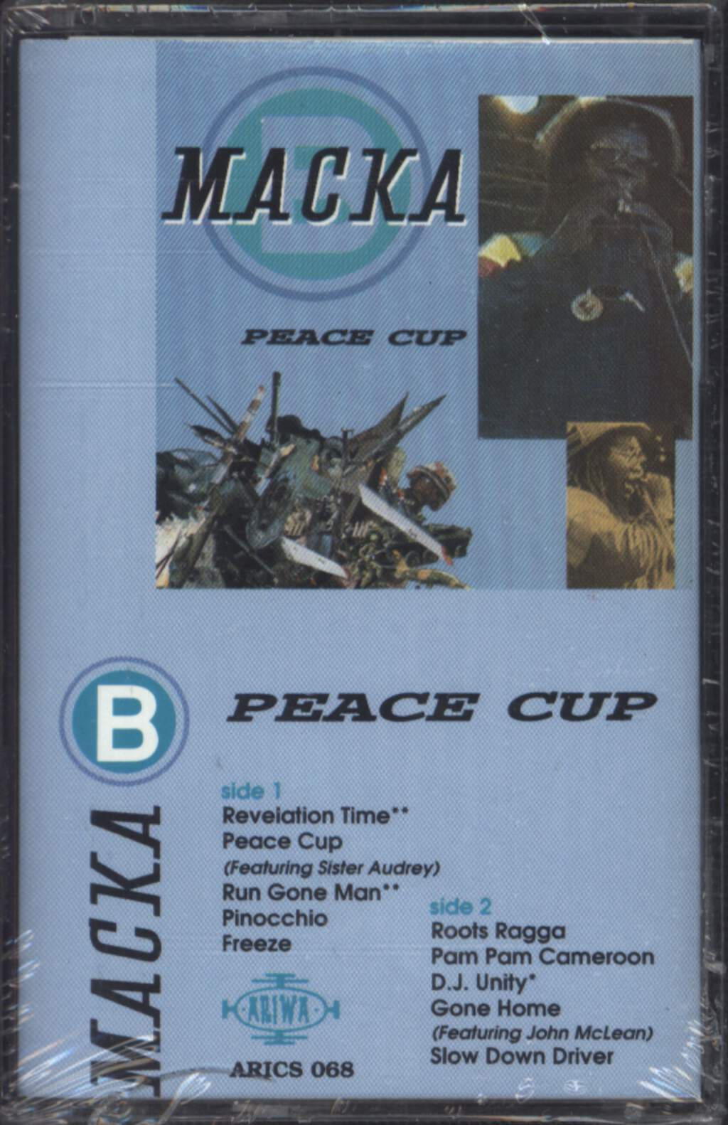 Macka B: Peace Cup, Compact Cassette