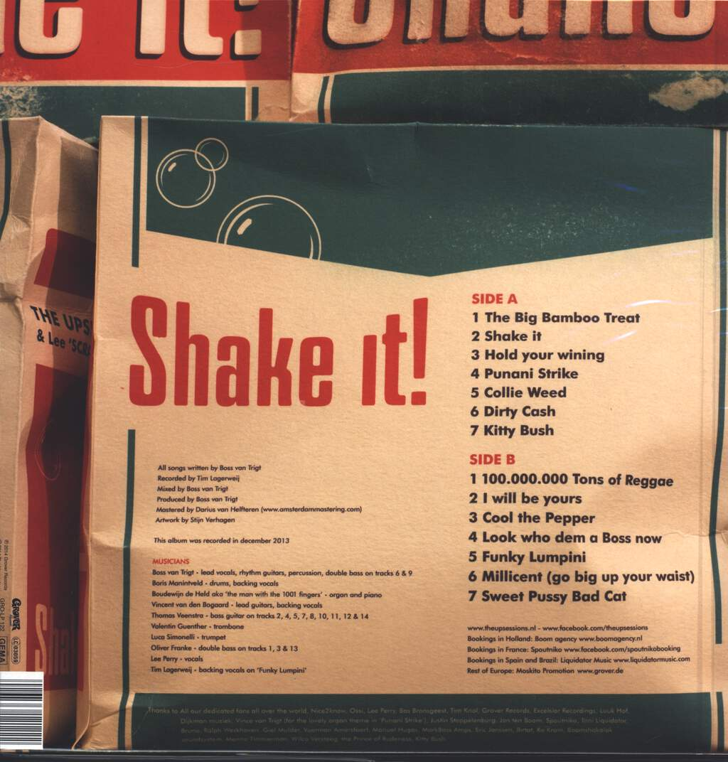 The Upsessions: Shake It!, LP (Vinyl)