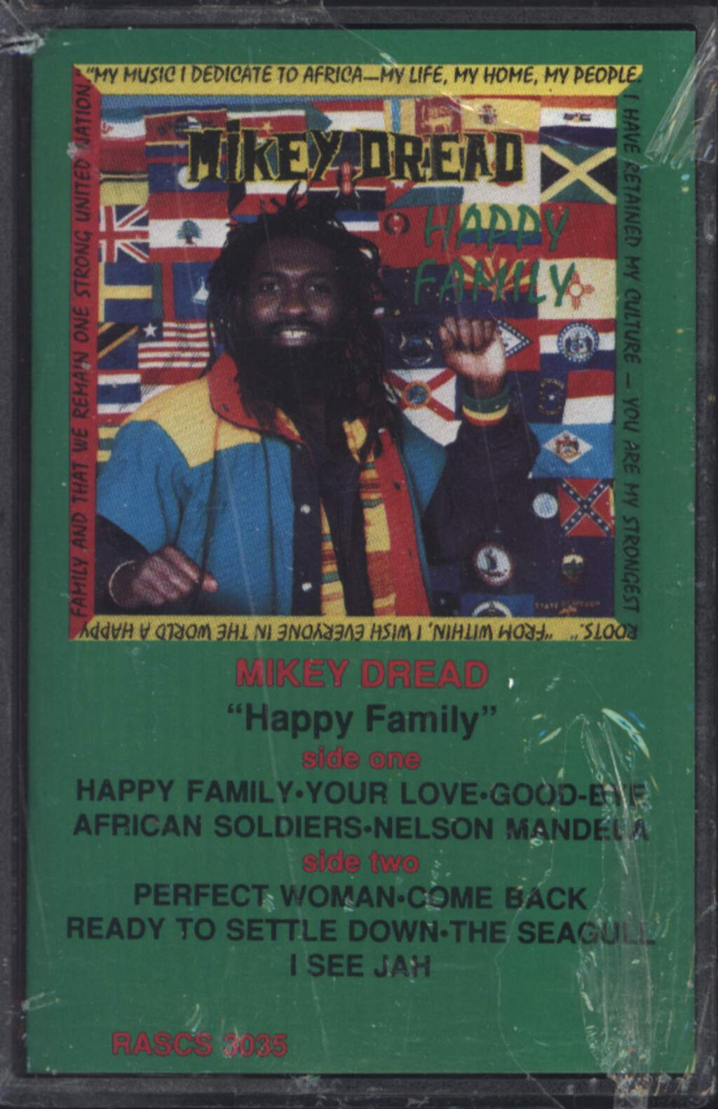 Mikey Dread: Happy Family, Compact Cassette