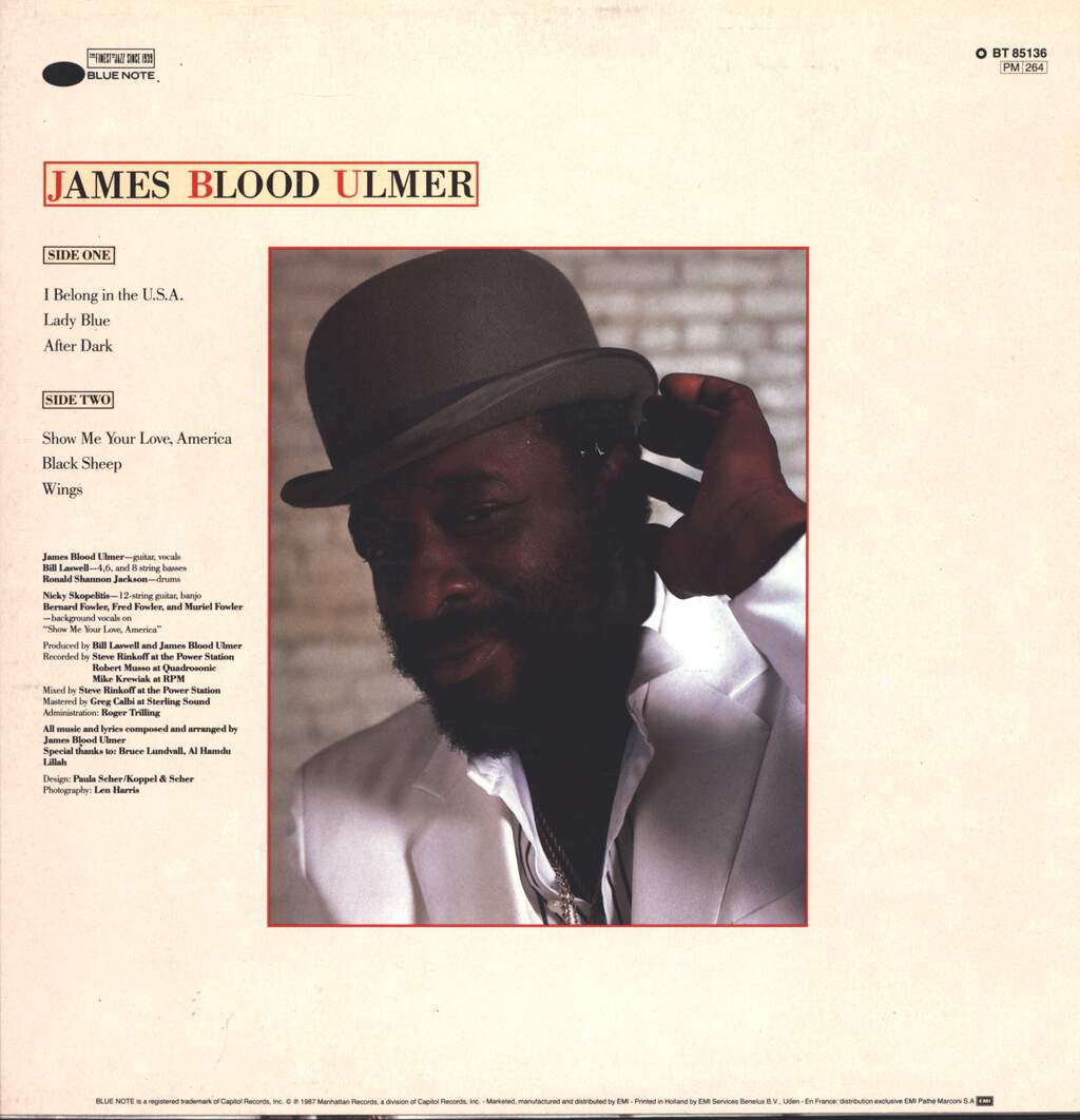 James Blood Ulmer: America - Do You Remember The Love?, LP (Vinyl)