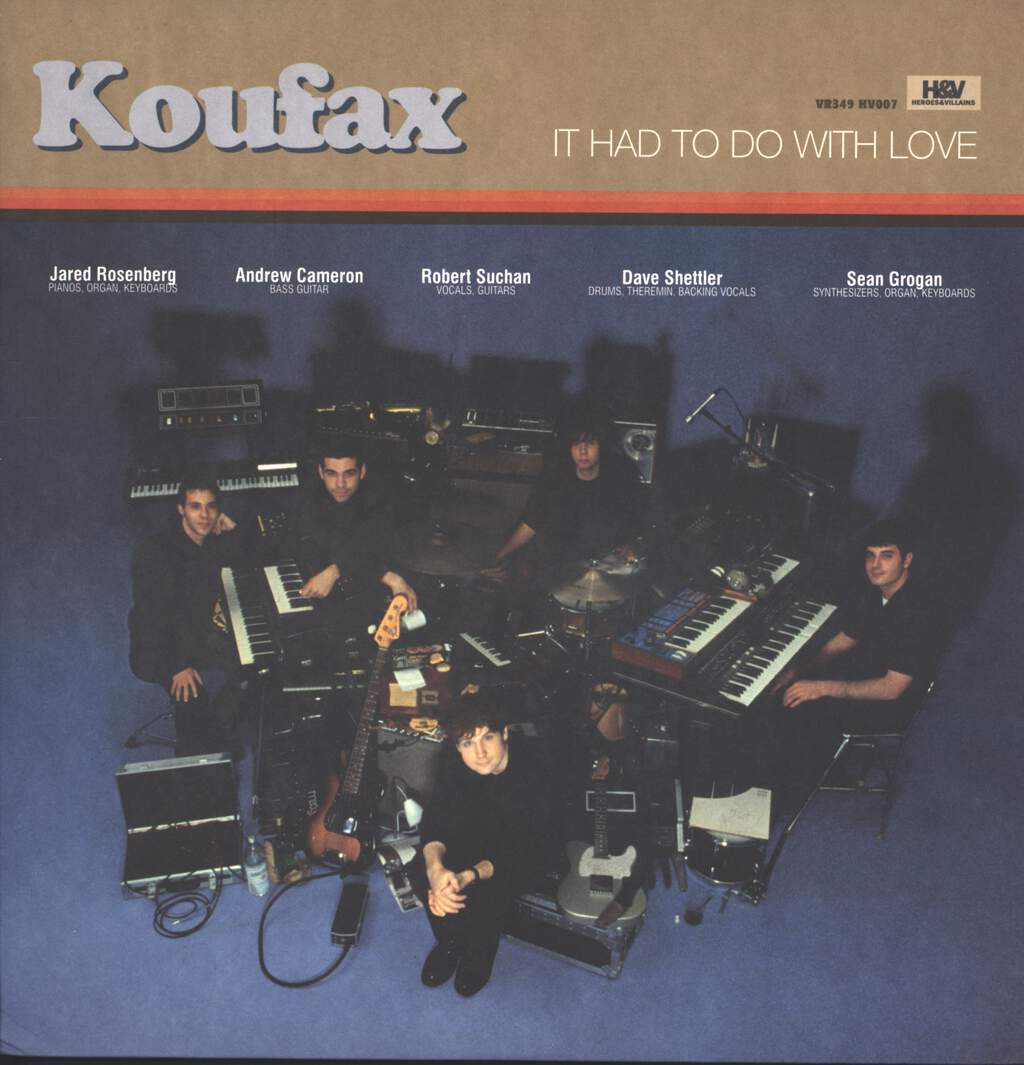 Koufax: It Had To Do With Love, LP (Vinyl)