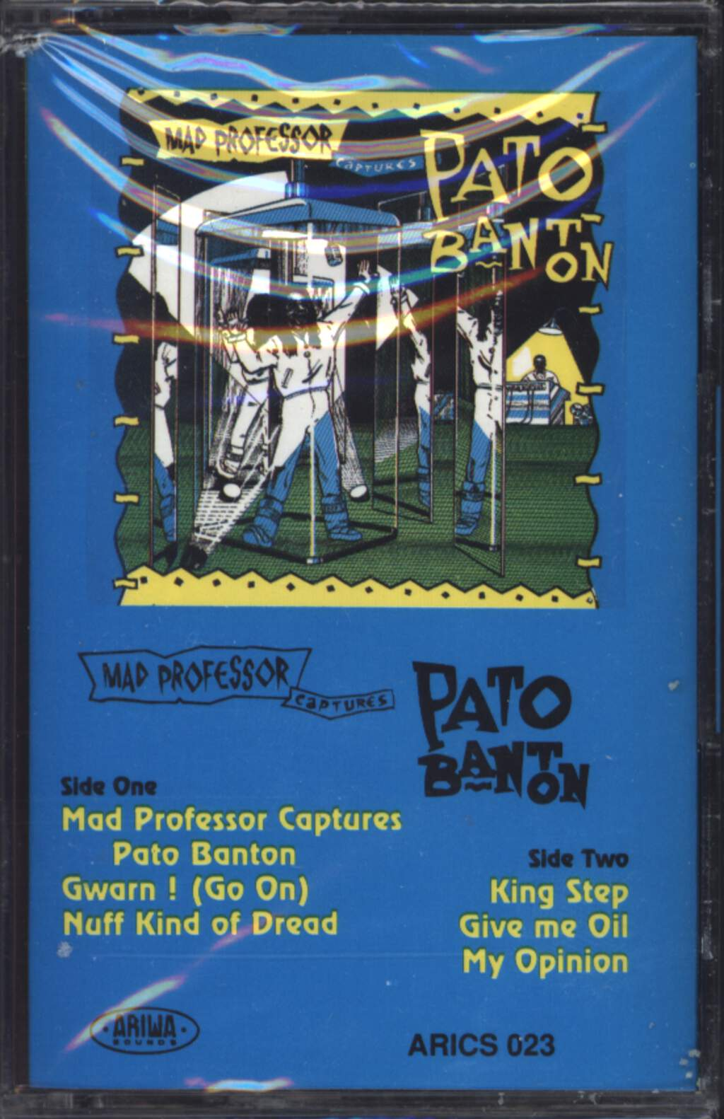 Mad Professor: Mad Professor Captures Pato Banton, Compact Cassette