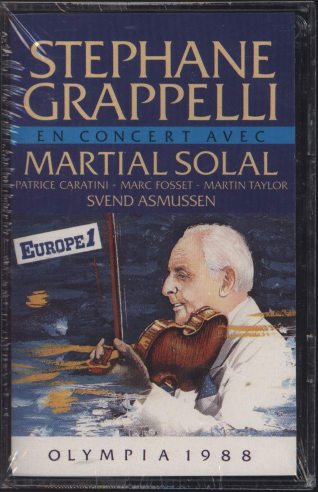 Stéphane Grappelli: Olympia 1988, Compact Cassette