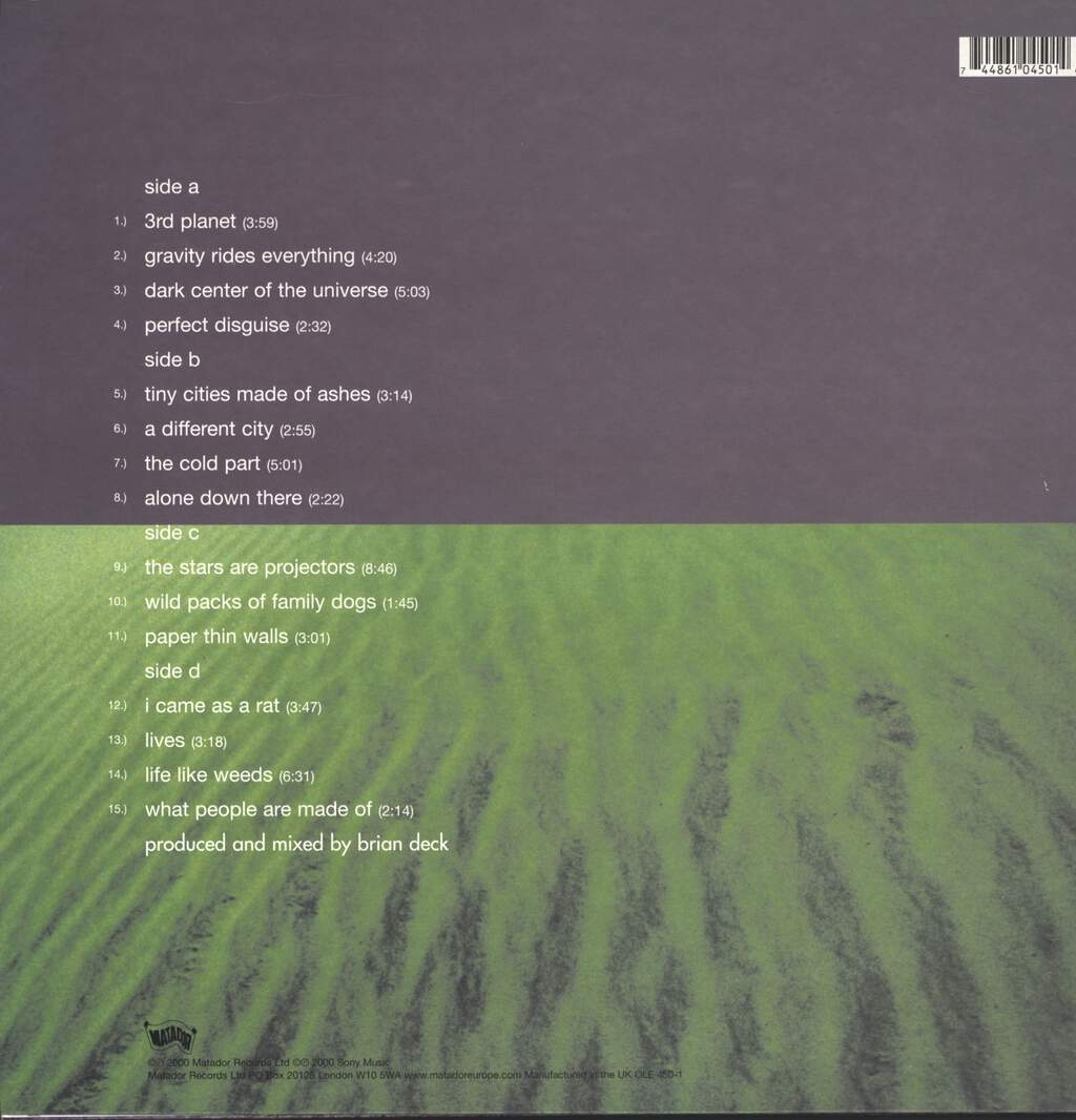 Modest Mouse: The Moon & Antarctica, LP (Vinyl)