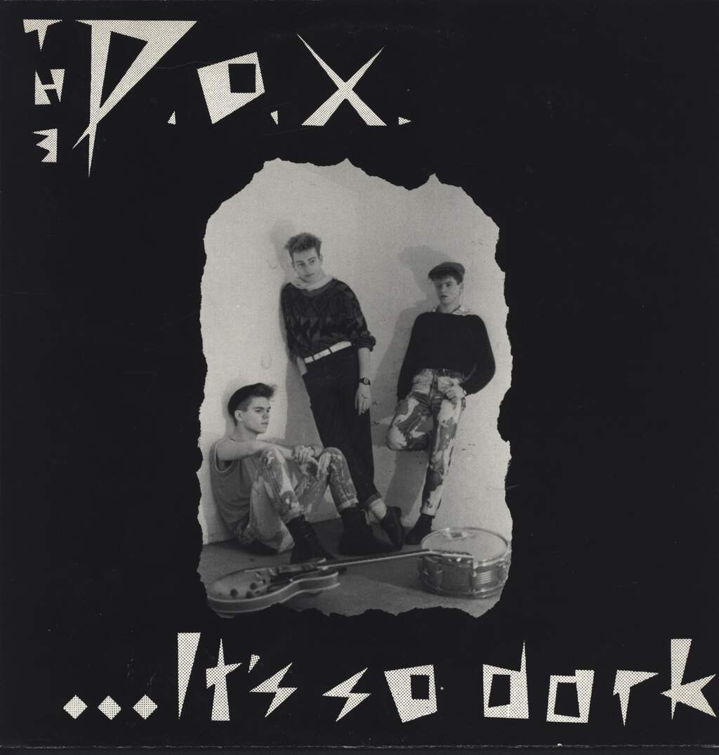 P.O.X.: It's So Dark, Mini LP (Vinyl)