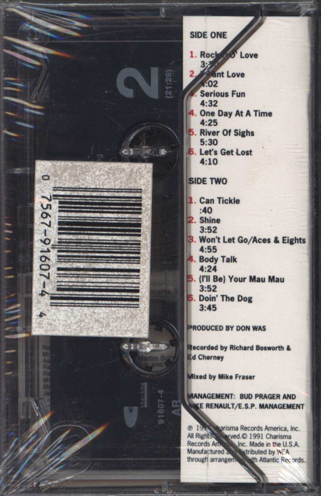 The Knack: Serious Fun, Compact Cassette