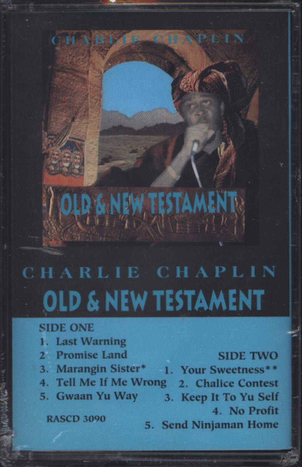 Charlie Chaplin: Old & New Testament, Compact Cassette