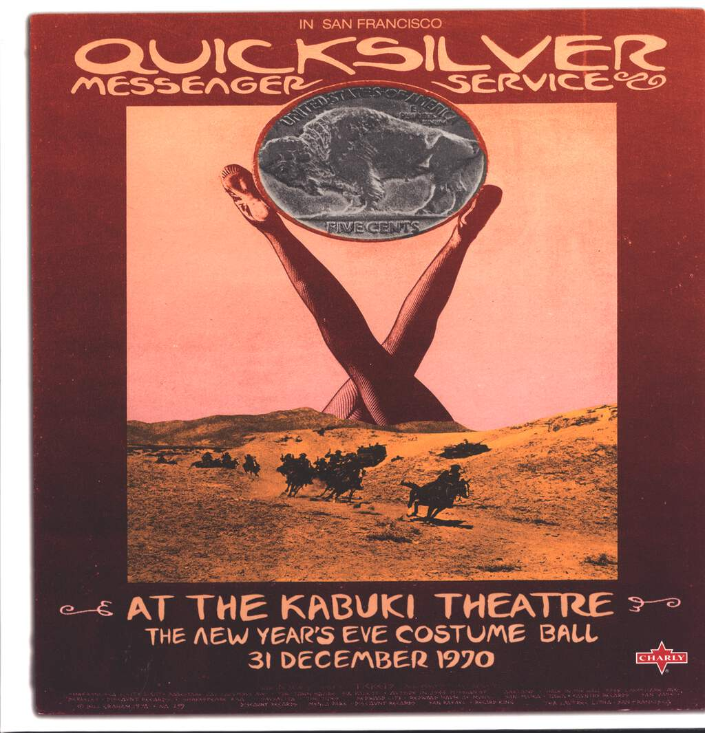Quicksilver Messenger Service: At The Kabuki Theatre (The New Year's Eve Costume Ball 31 December 1970), LP (Vinyl)