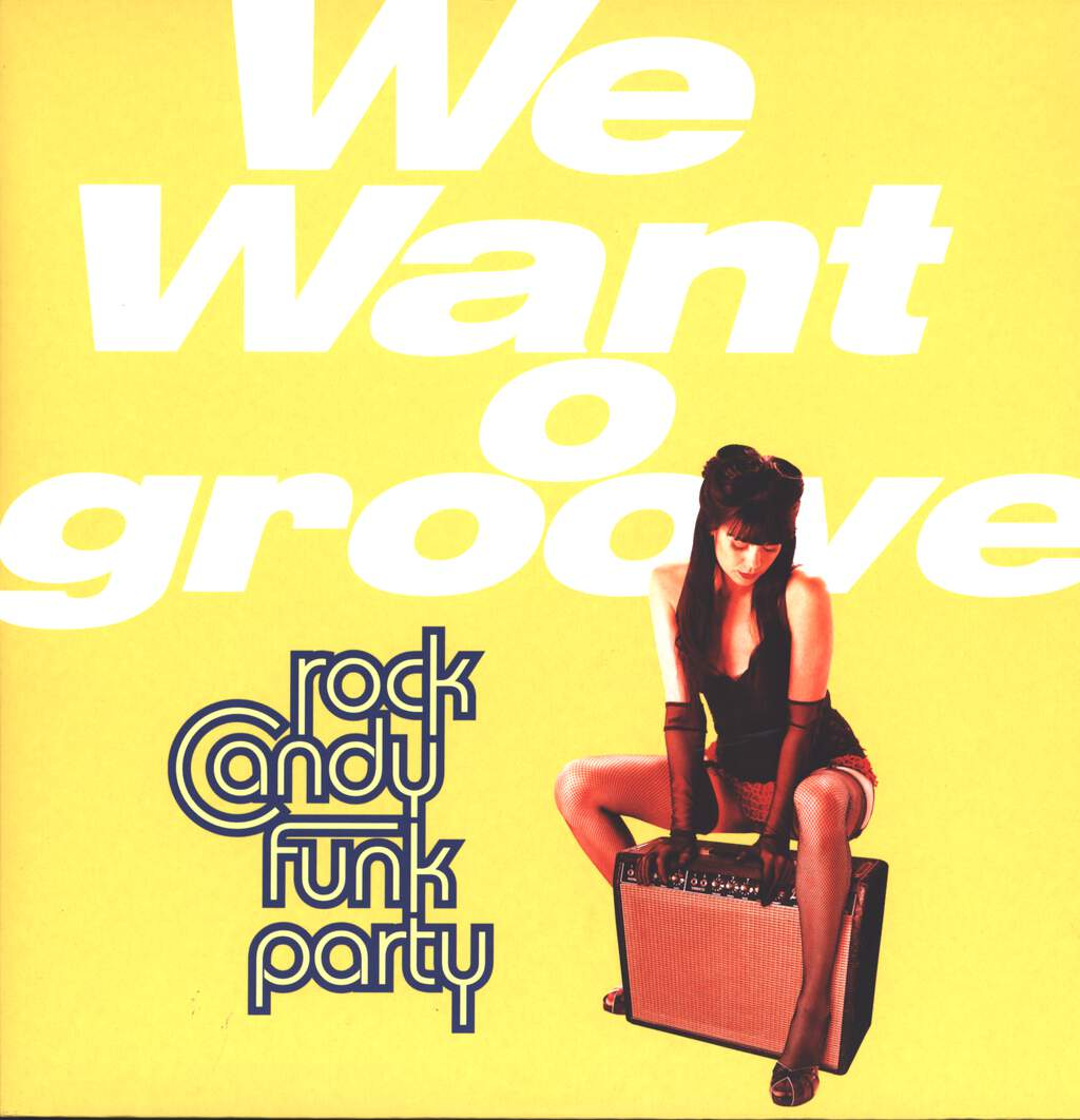Rock Candy Funk Party: We Want Groove, LP (Vinyl)