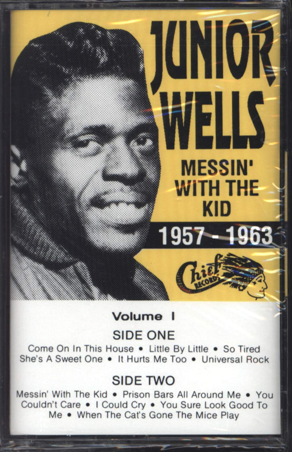 Junior Wells: 1957-1963:  Messin' With The Kid, Compact Cassette
