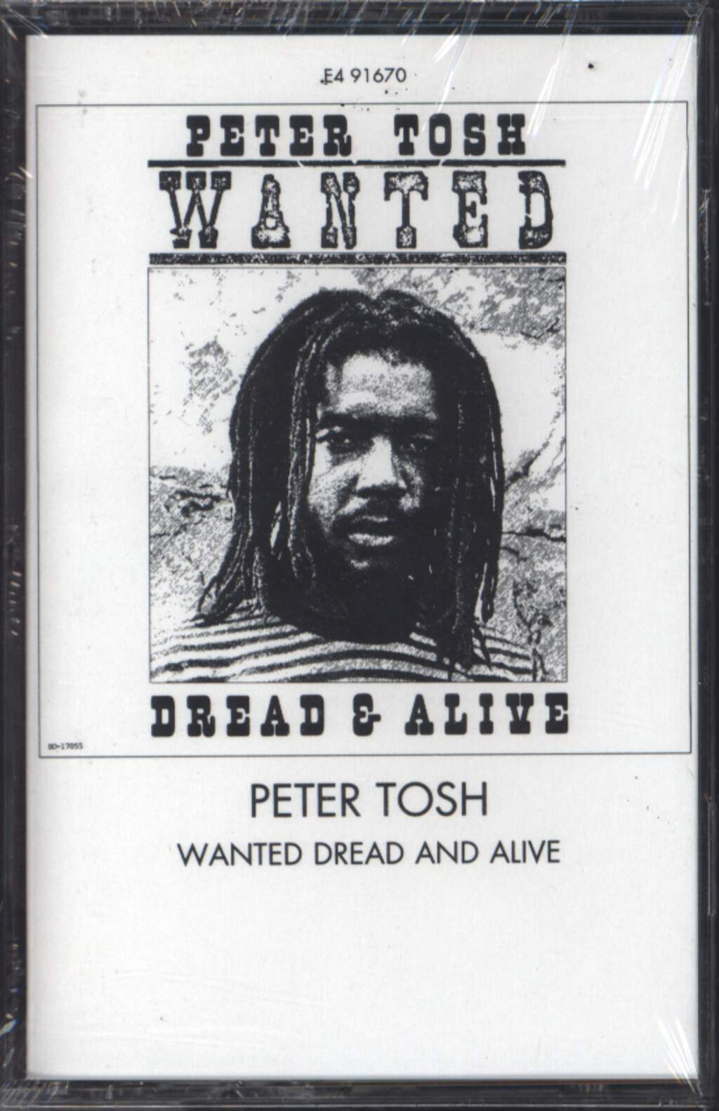 Peter Tosh: Wanted Dread & Alive, Compact Cassette