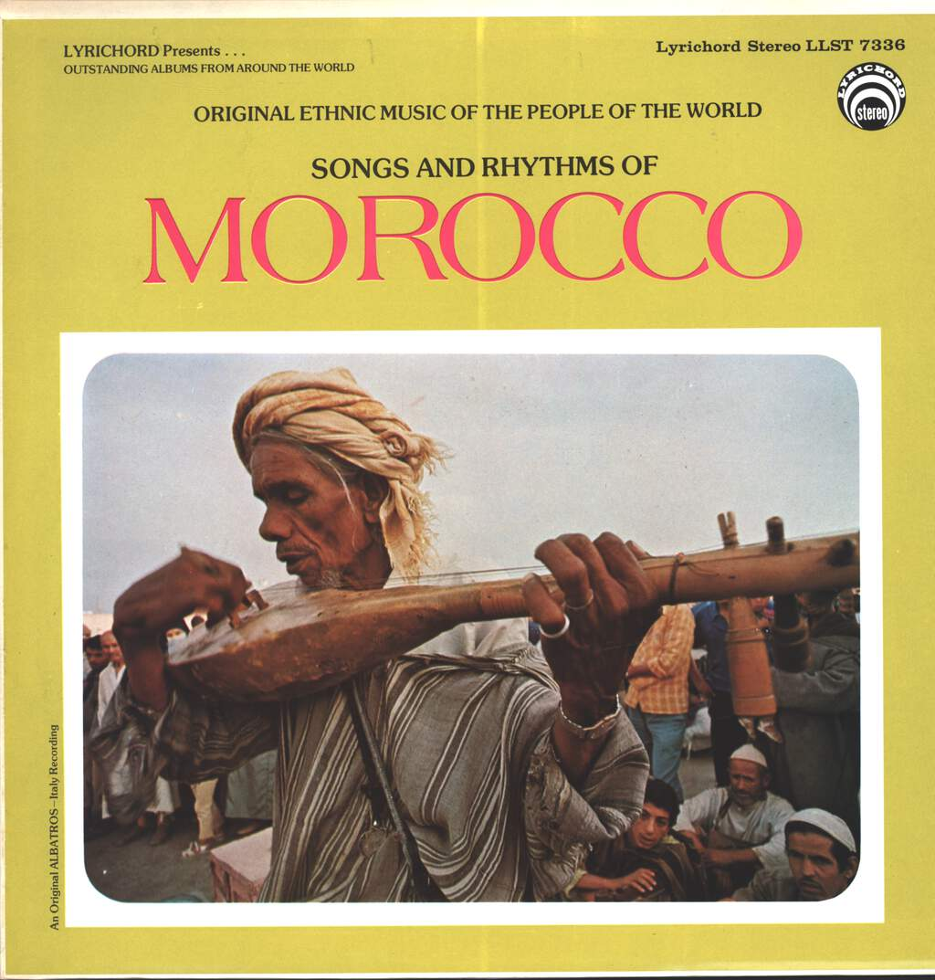 Unknown Artist: Songs And Rhythms Of Morocco, LP (Vinyl)