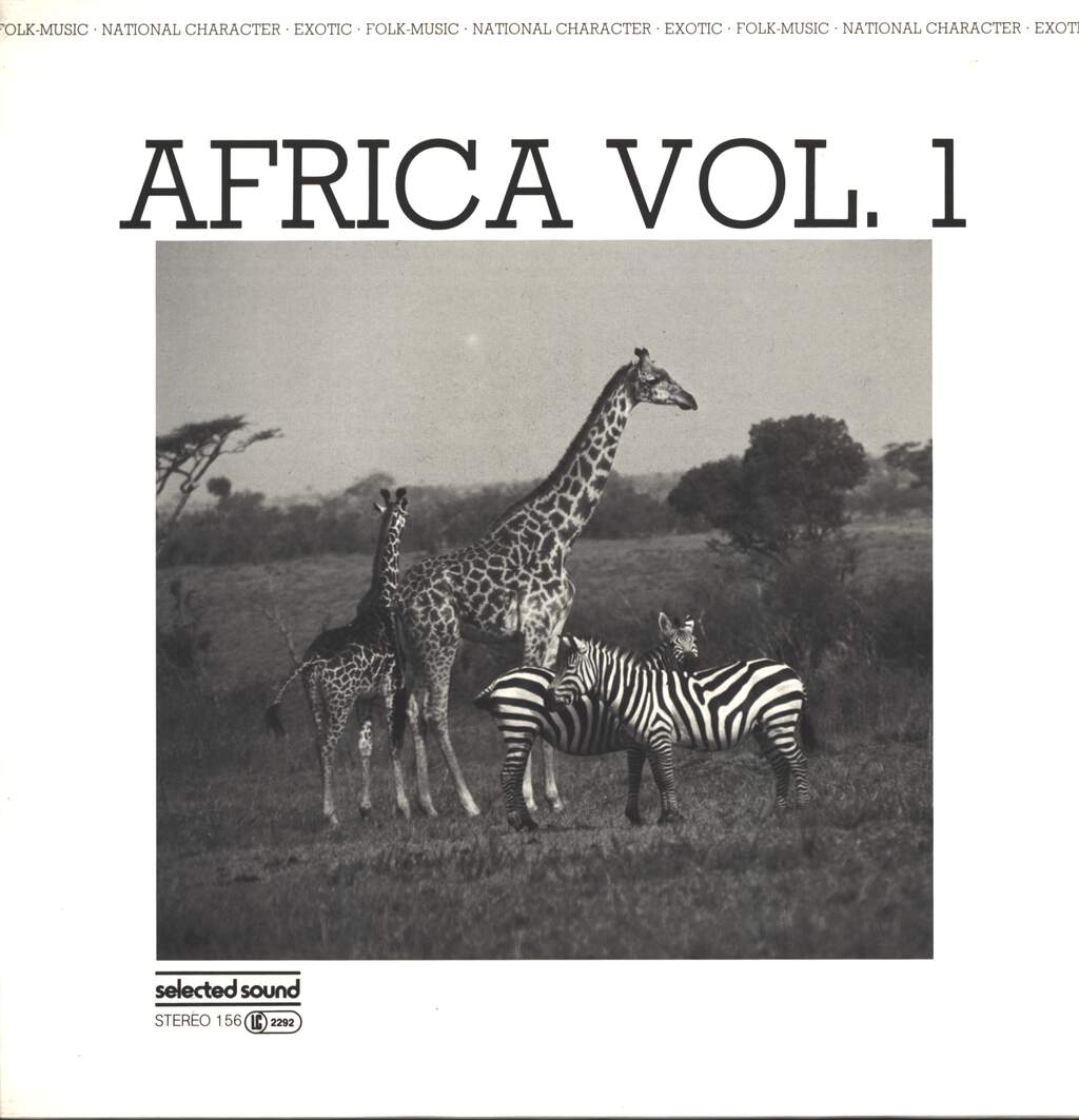 Various: Africa Vol. 1, LP (Vinyl)