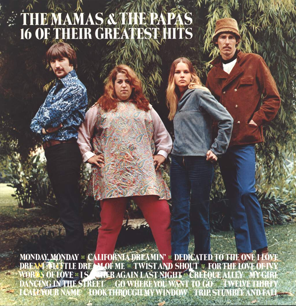 The Mamas & The Papas: 16 Of Their Greatest Hits, LP (Vinyl)