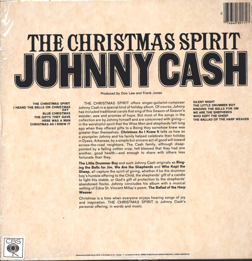 Johnny Cash: The Christmas Spirit