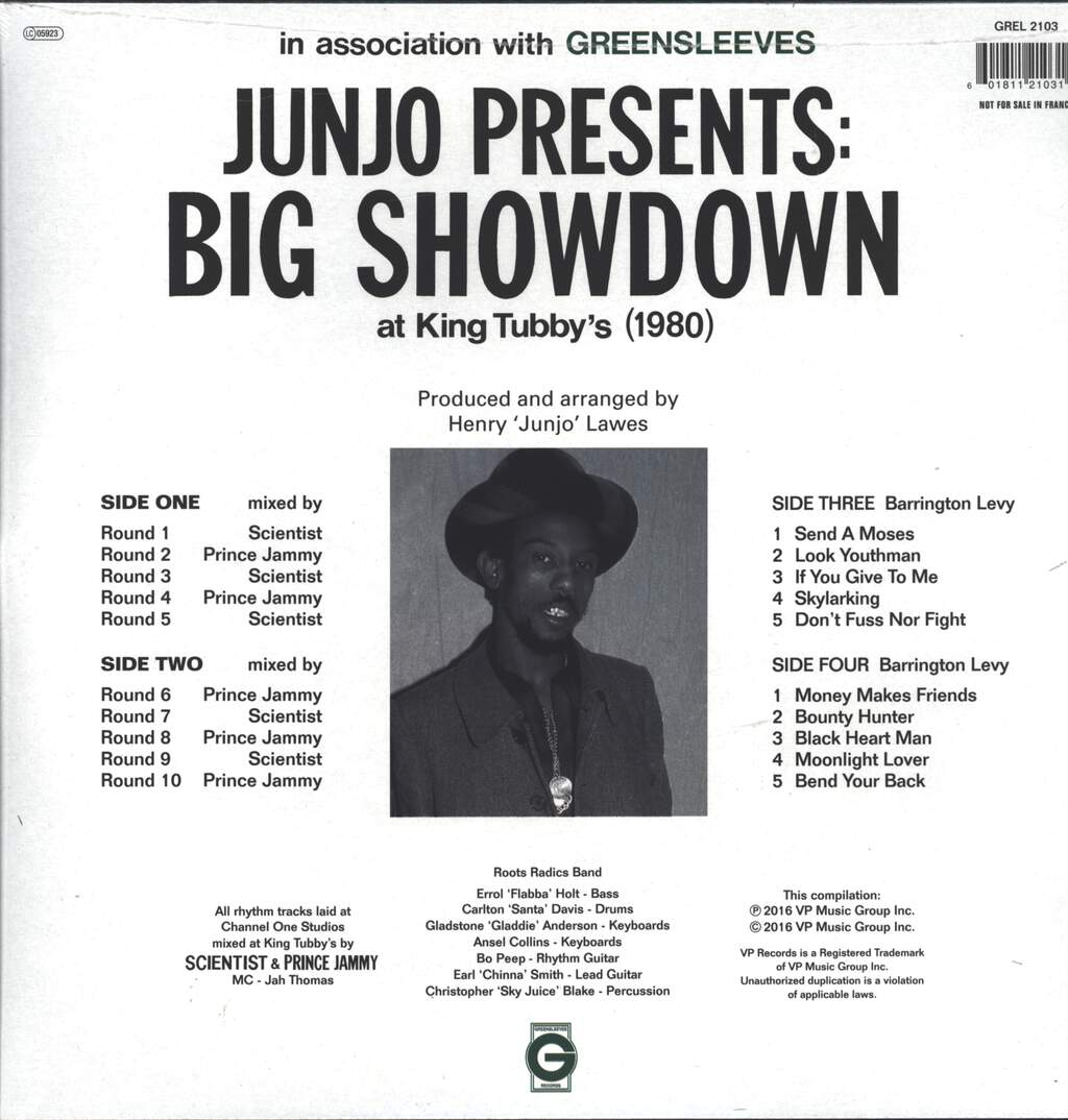 "Henry ""Junjo"" Lawes: Big Showdown, 2×LP (Vinyl)"