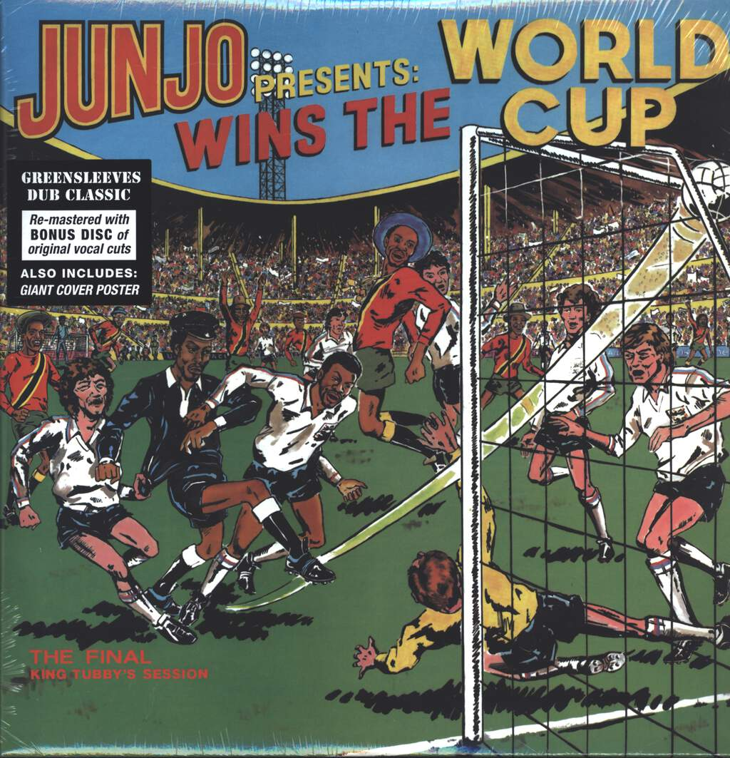 "Henry ""Junjo"" Lawes: Wins The World Cup (The Final King Tubby's Session), LP (Vinyl)"