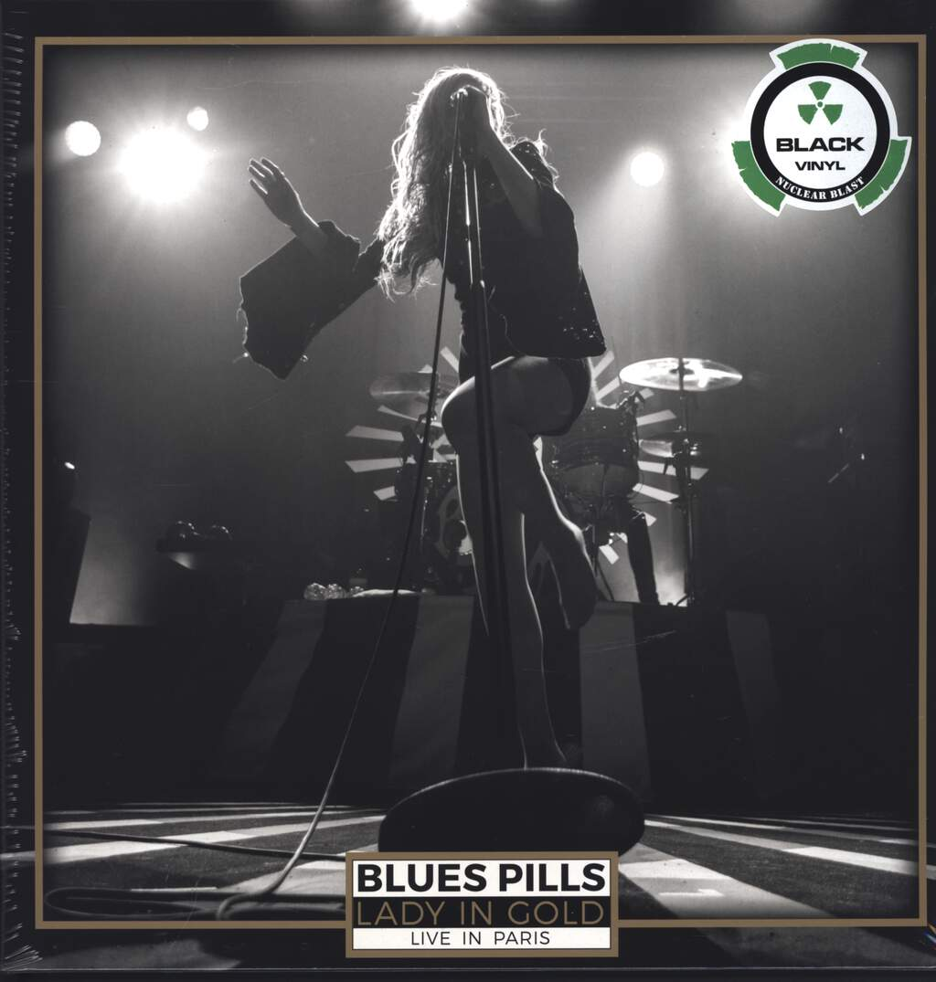 Blues Pills: Lady In Gold - Live In Paris, LP (Vinyl)