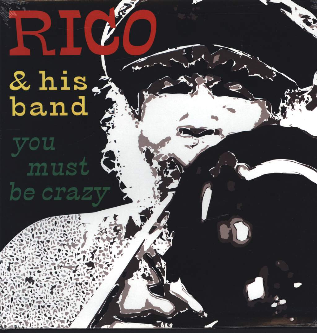 Rico + His Band: You Must Be Crazy - The Official Live Album, LP (Vinyl)