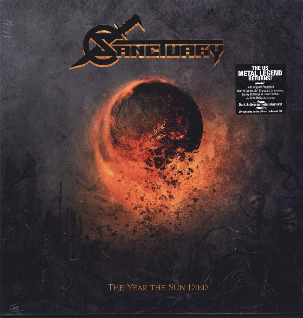 Sanctuary: The Year The Sun Died, LP (Vinyl)