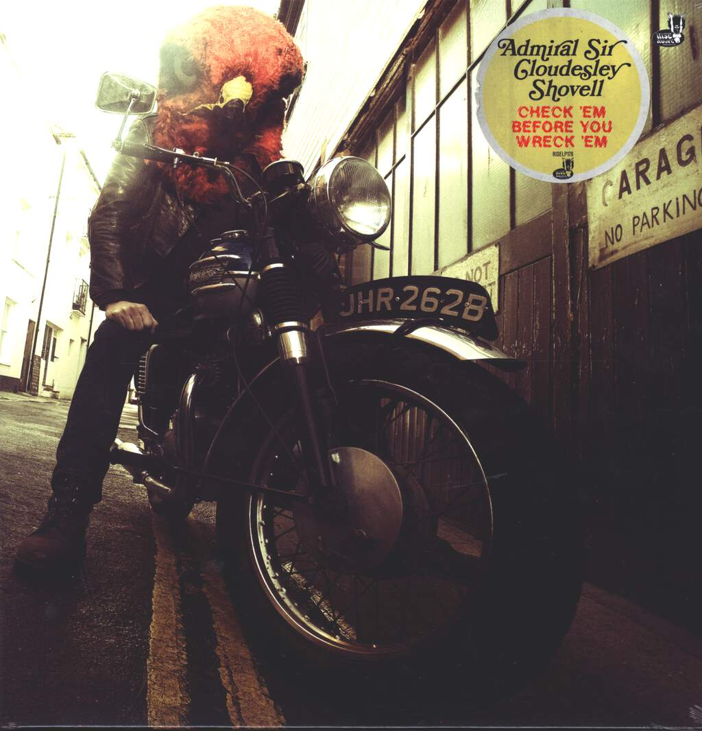 Admiral Sir Cloudesley Shovell: Check 'Em Before You Wreck 'Em, LP (Vinyl)