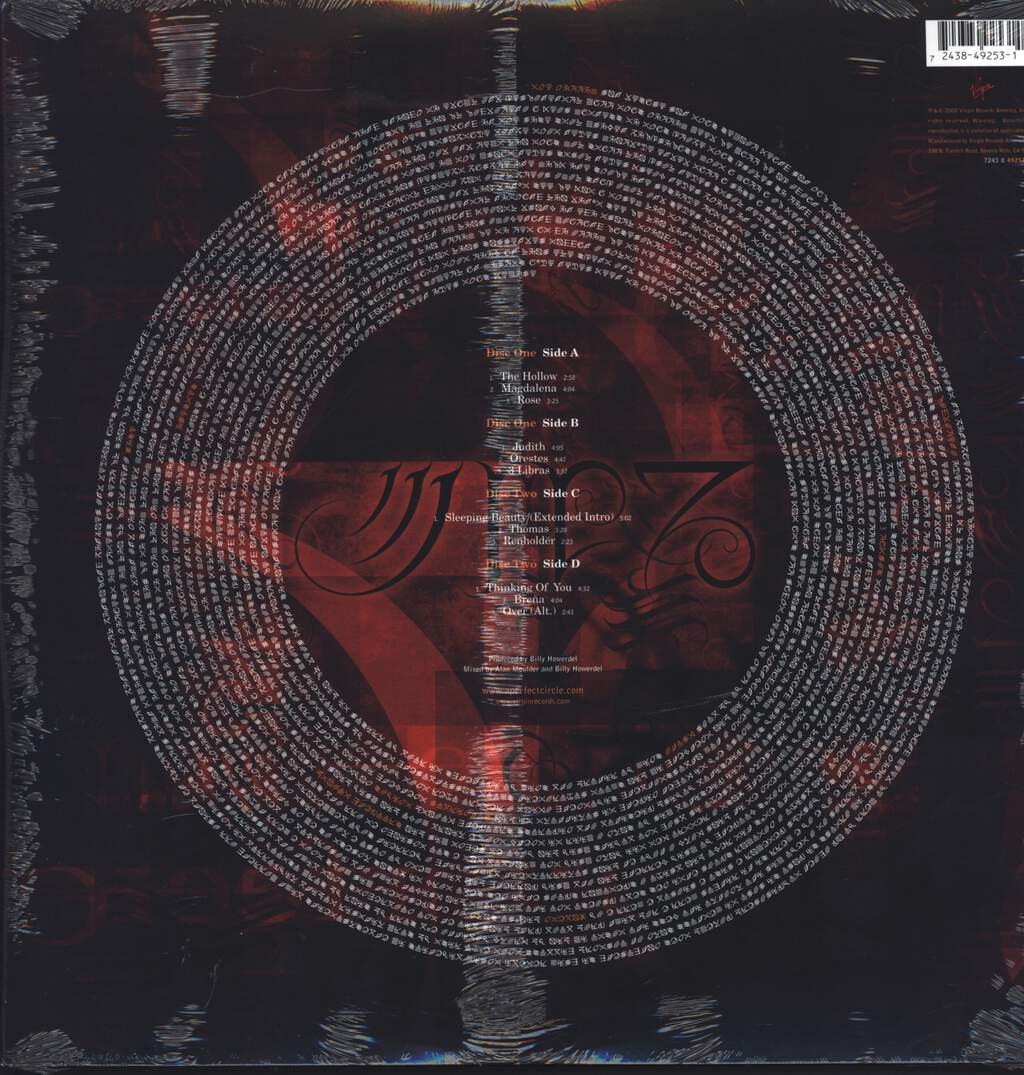 A Perfect Circle: Mer De Noms, LP (Vinyl)