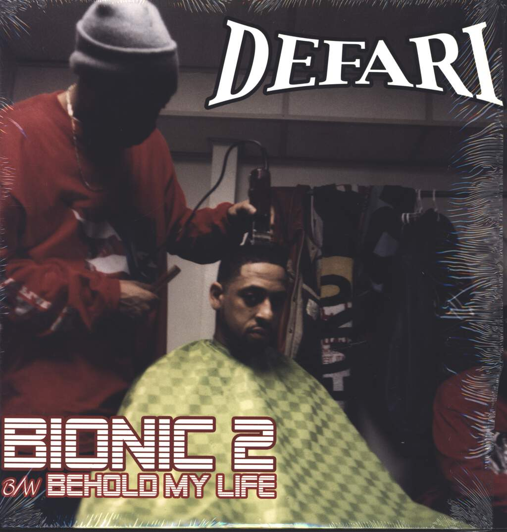 "Defari: Bionic 2 / Behold My Life, 12"" Maxi Single (Vinyl)"