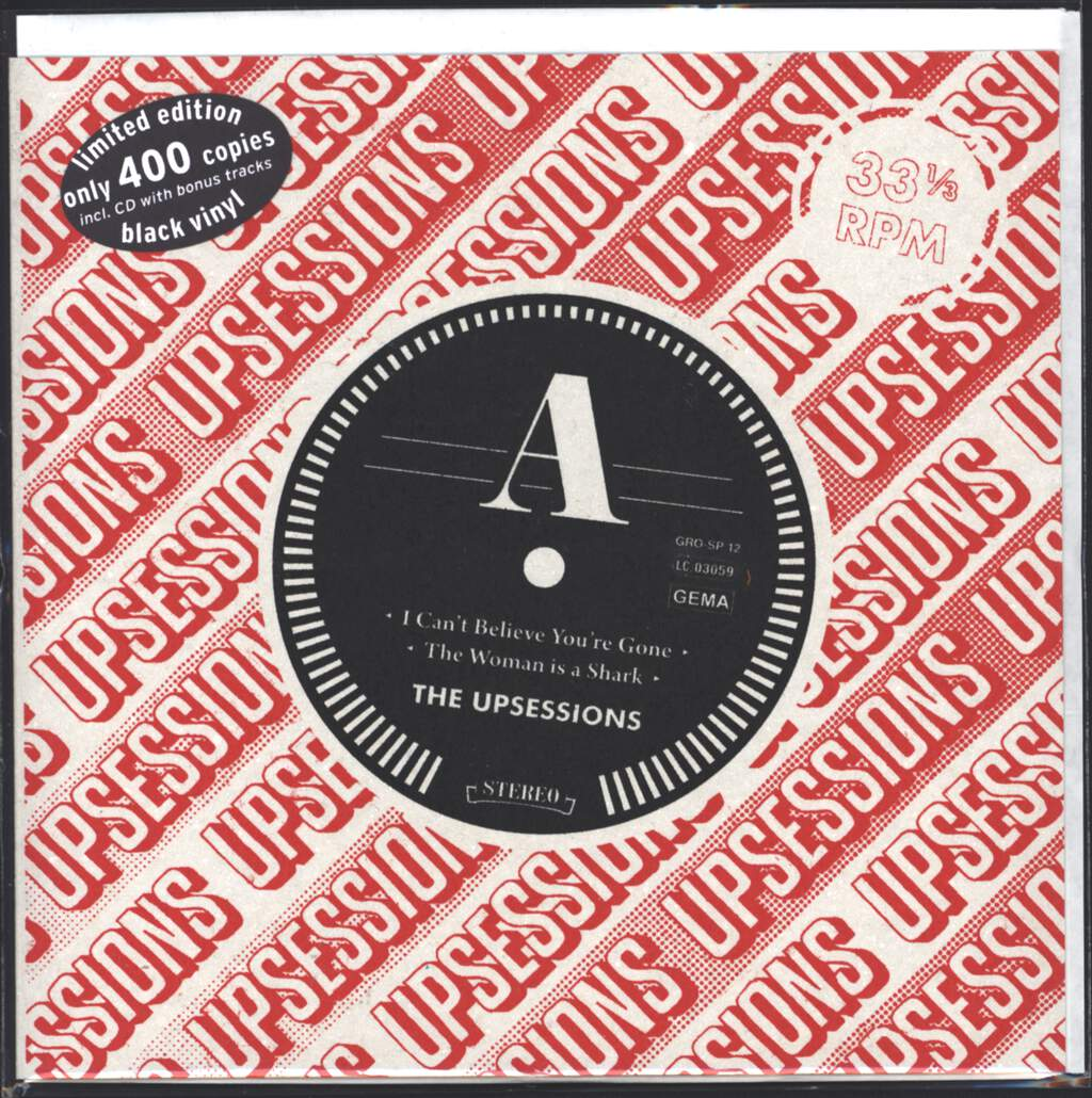 "The Upsessions: 10th Anniversary EP, 7"" Single (Vinyl)"