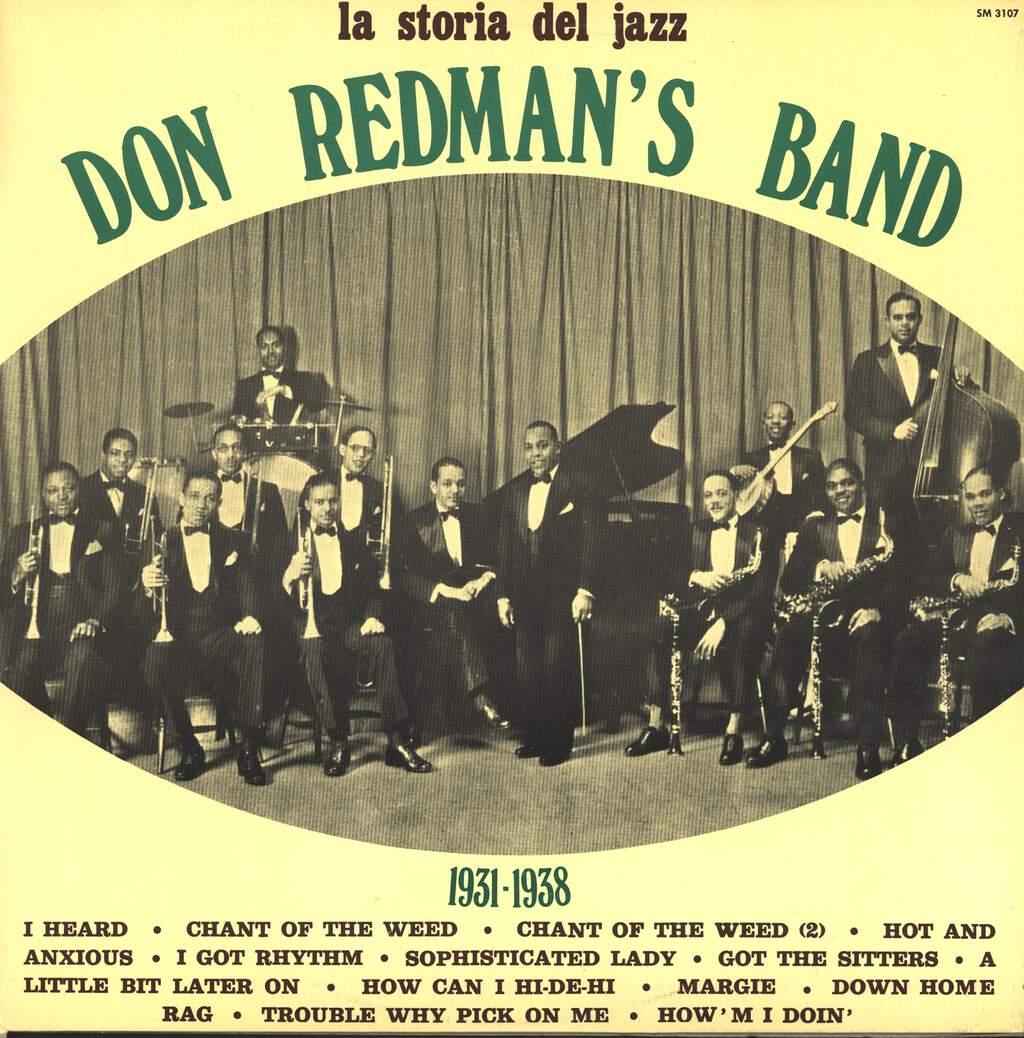 Don Redman's Band: 1931 - 1938, LP (Vinyl)