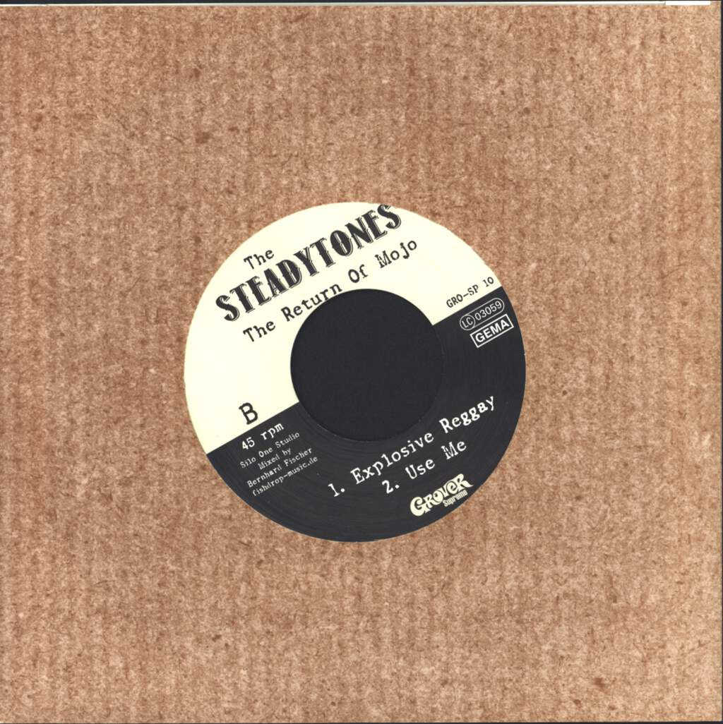 "The Steadytones: The Return Of Mojo, 7"" Single (Vinyl)"