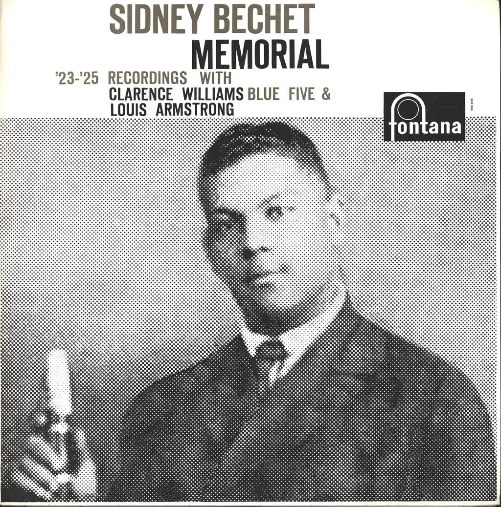 Clarence Williams' Blue Five: Sidney Bechet Memorial, LP (Vinyl)