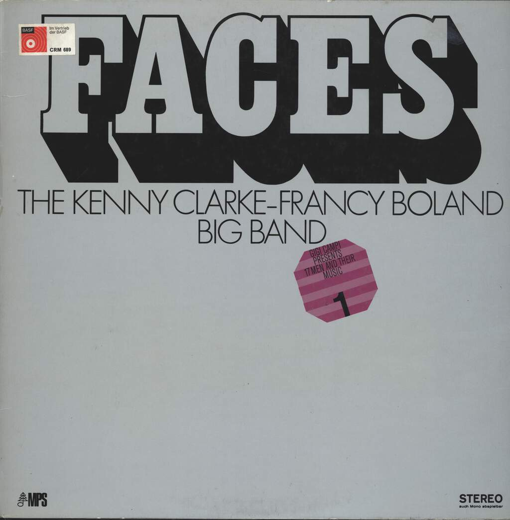 Clarke-Boland Big Band: Faces (17 Men And Their Music), LP (Vinyl)