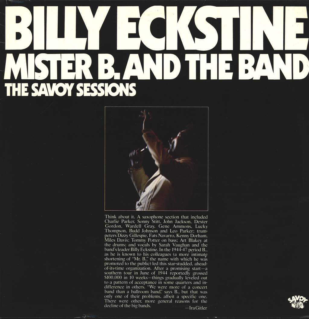 Billy Eckstine: Mister B. And The Band, LP (Vinyl)
