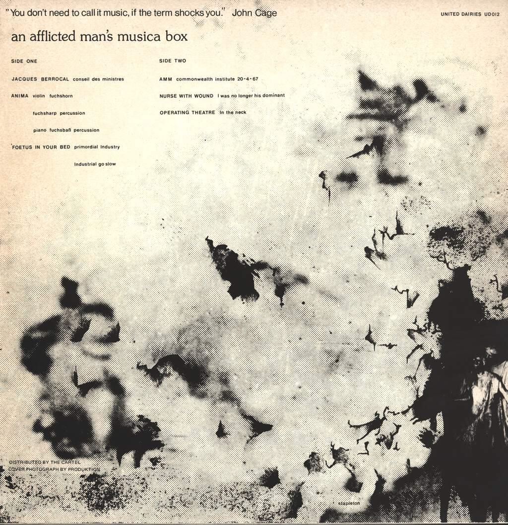 Various: An Afflicted Man's Musica Box, LP (Vinyl)