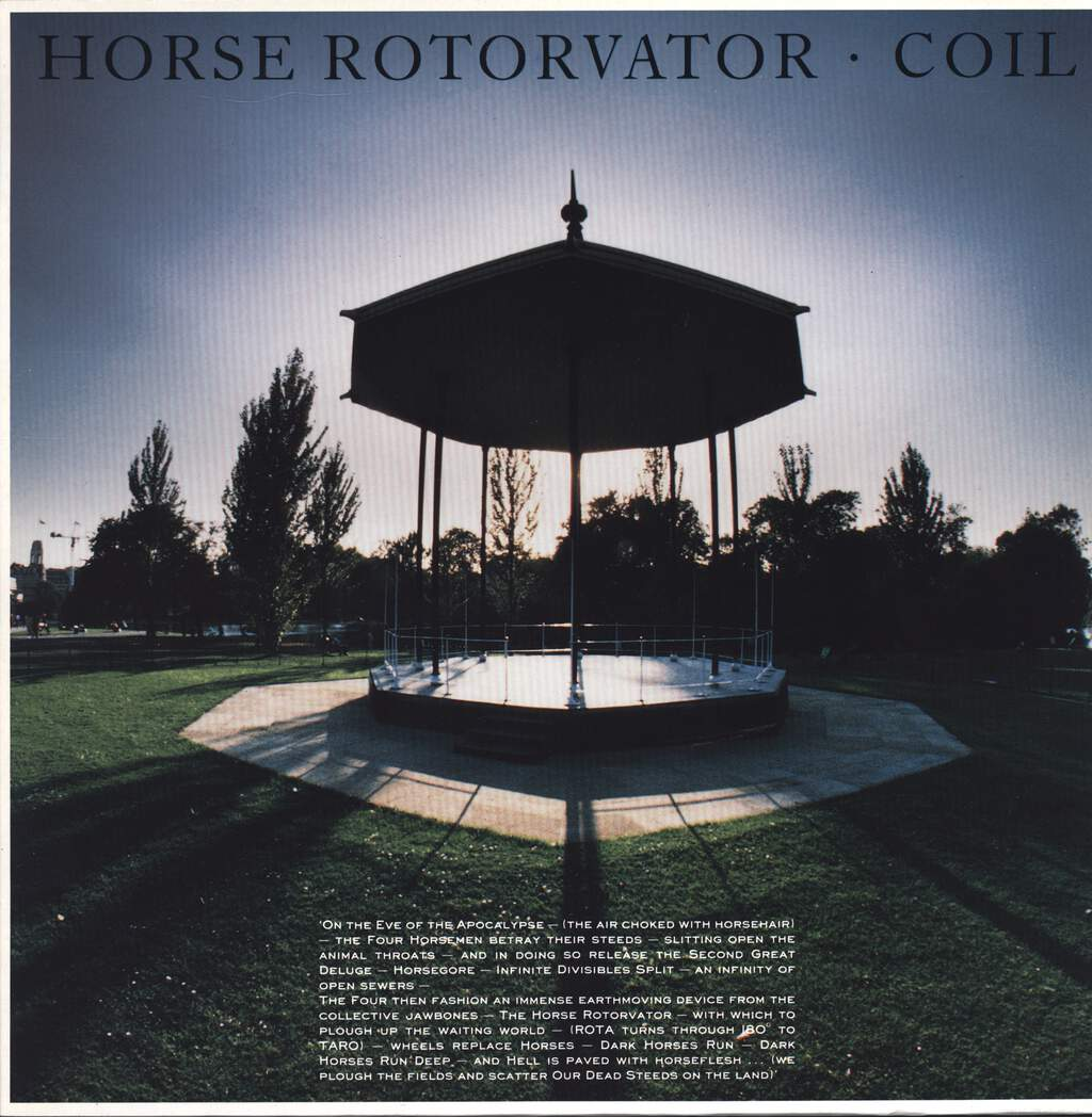 Coil: Horse Rotorvator, LP (Vinyl)