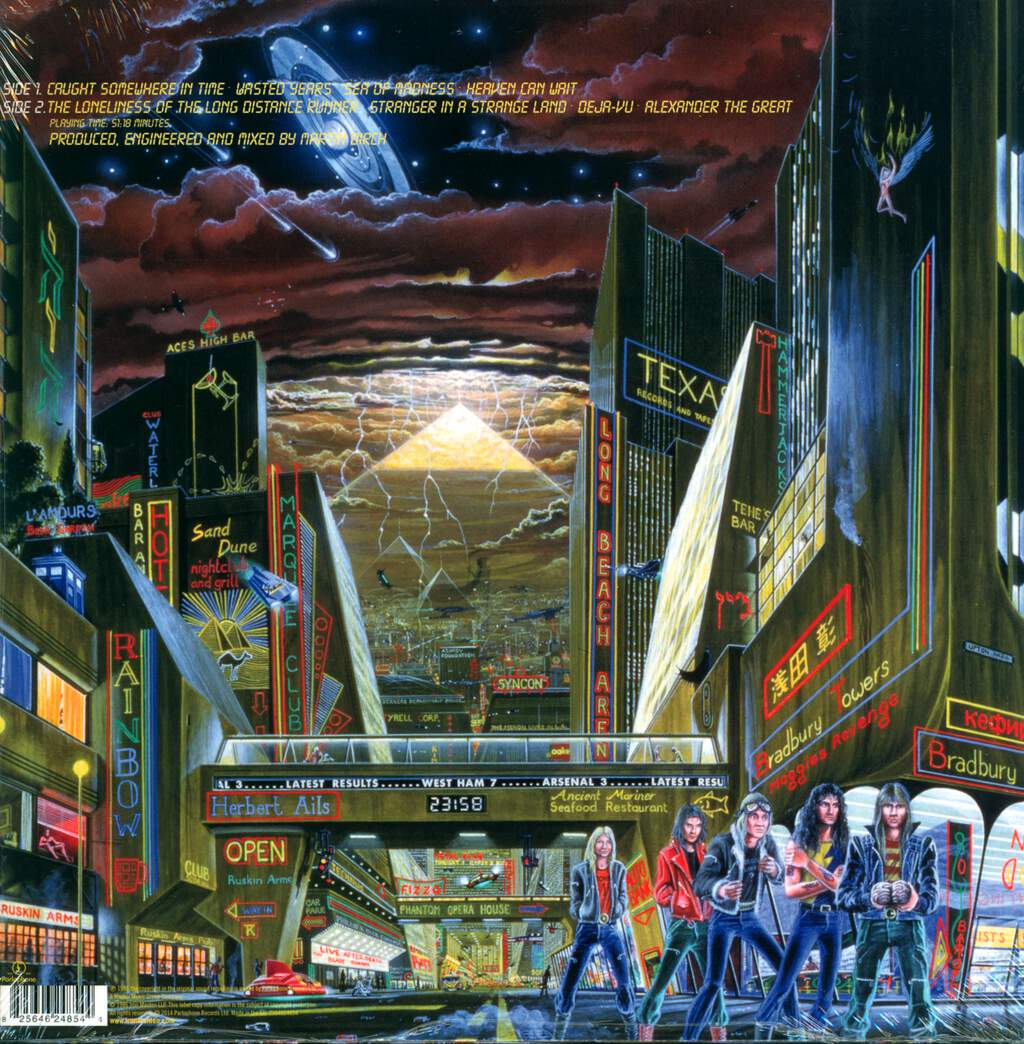 Iron Maiden: Somewhere In Time, LP (Vinyl)