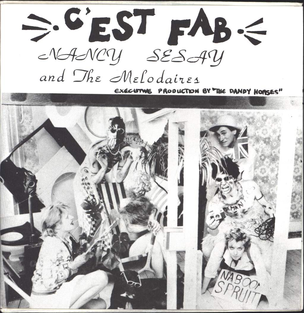 "Nancy Sesay And The Melodaires: C'Est Fab, 7"" Single (Vinyl)"