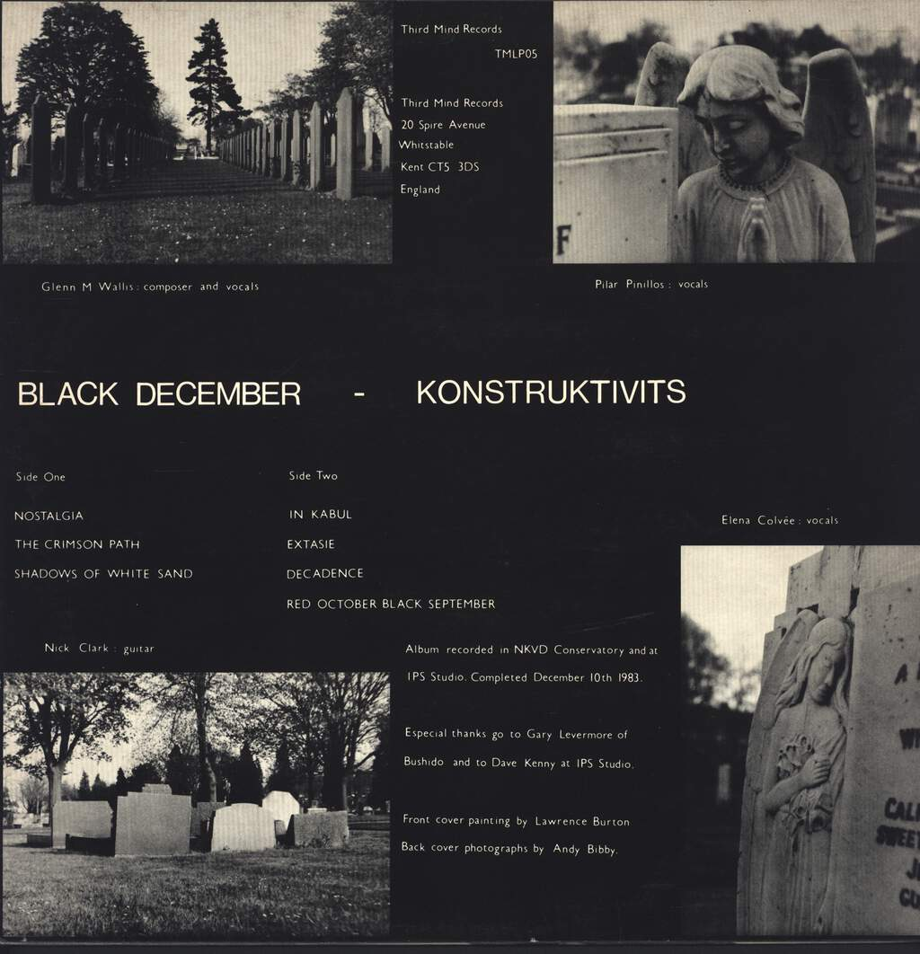 Konstruktivits: Black December, LP (Vinyl)