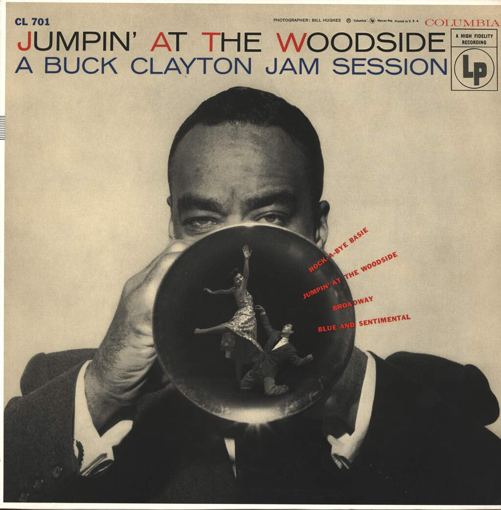 Buck Clayton: Jumpin' At The Woodside, LP (Vinyl)