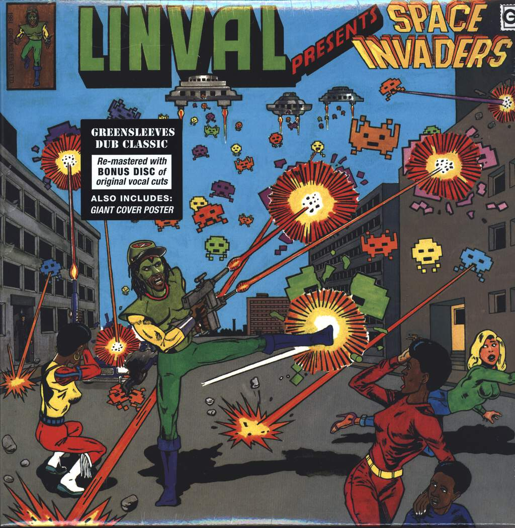 Linval Thompson: Space Invaders, LP (Vinyl)