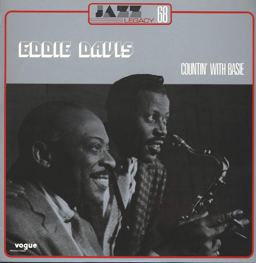 "Eddie ""Lockjaw"" Davis: Countin' With Basie, LP (Vinyl)"