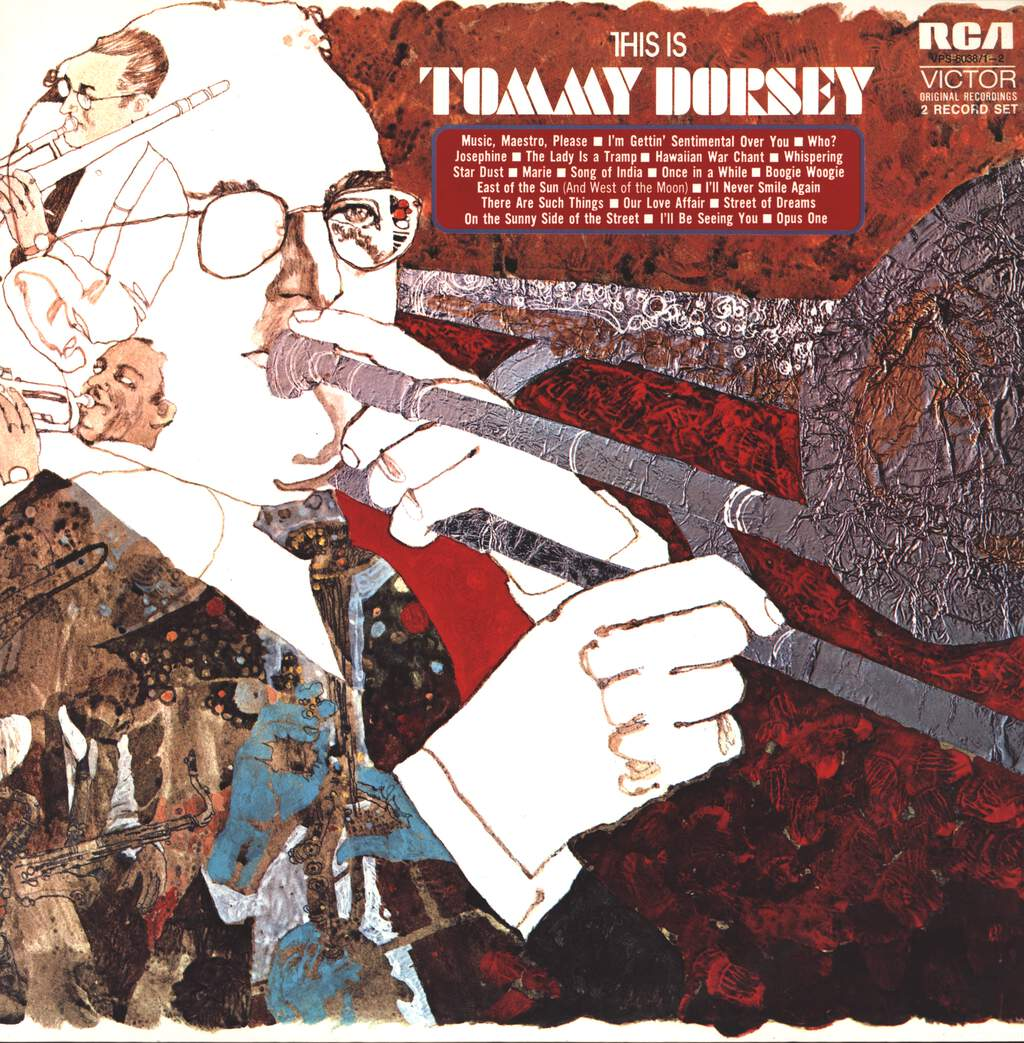 Tommy Dorsey And His Orchestra: This Is Tommy Dorsey, LP (Vinyl)