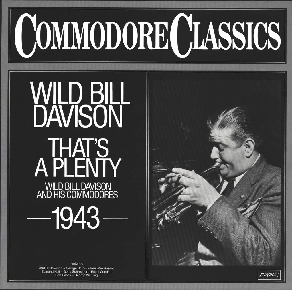 Wild Bill Davison And His Commodores: That's A Plenty, LP (Vinyl)