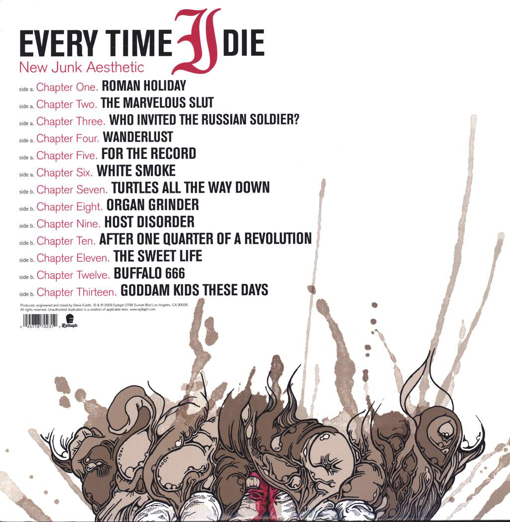 Every Time I Die: New Junk Aesthetic, LP (Vinyl)