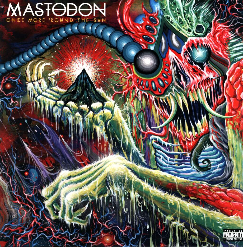 Mastodon: Once More 'Round The Sun, LP (Vinyl)