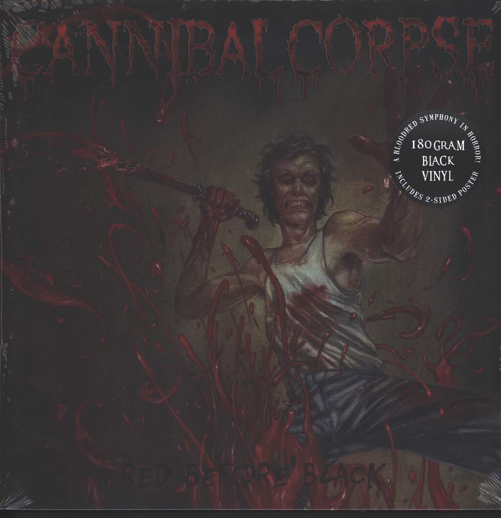 Cannibal Corpse: Red Before Black, LP (Vinyl)