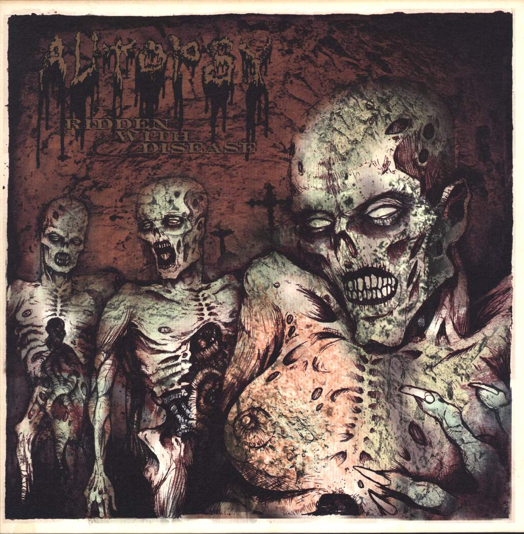 Autopsy: Ridden With Disease, LP (Vinyl)