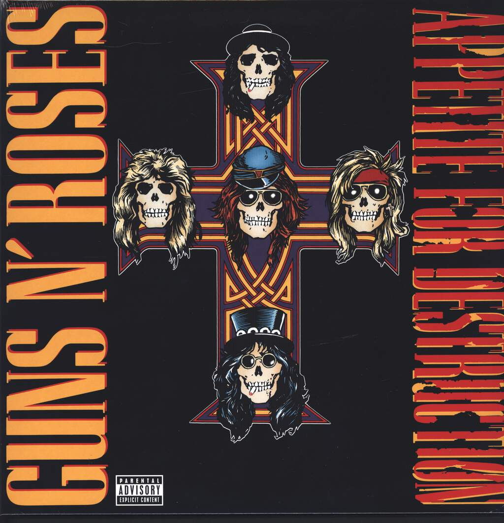 Guns N Roses: Appetite For Destruction, LP (Vinyl)