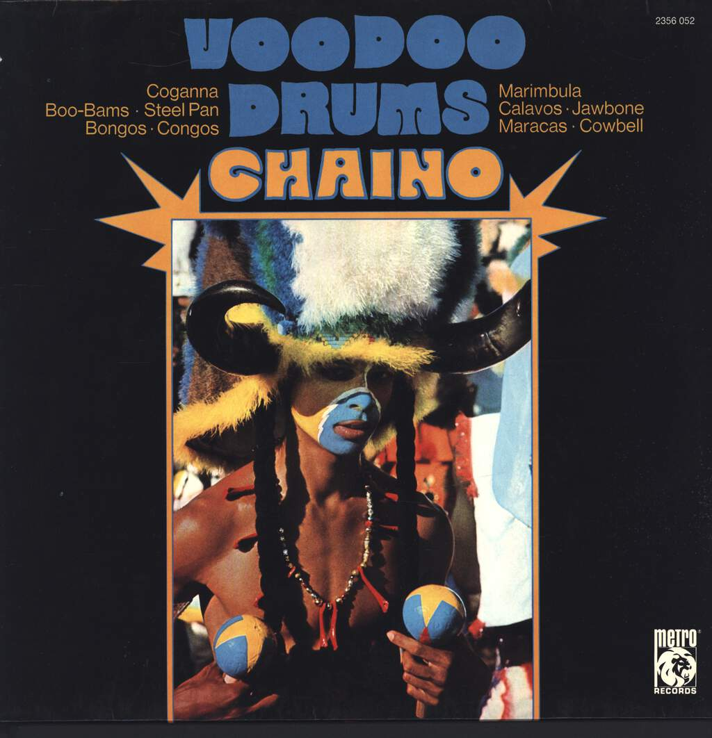 Chaino: Voodoo Drums, LP (Vinyl)